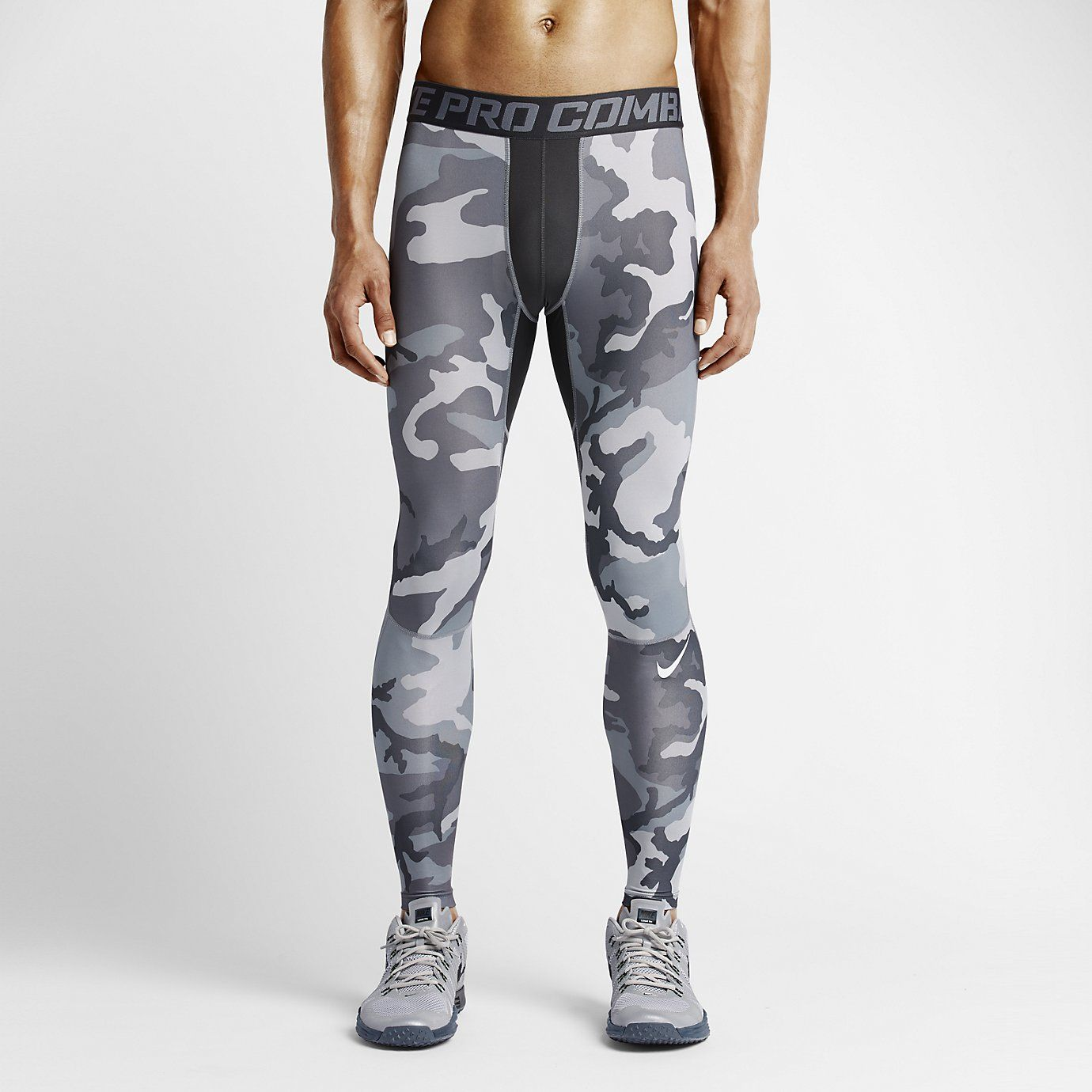 Nike Pro Combat Hypercool Woodland Men's Tights in 2019