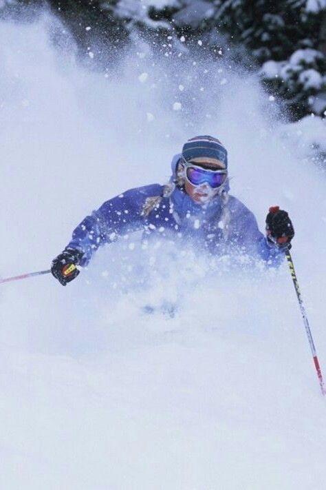 Skiing Deep Powder Backcountry Skiing Snow Skiing Ski Inspiration