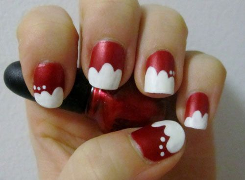 Amazing Collection Of Christmas Nail Art Designs Ideas 2013 2014 11 Amazing Collection Of Christmas Nail Art Designs & Ideas 2013/ 2014