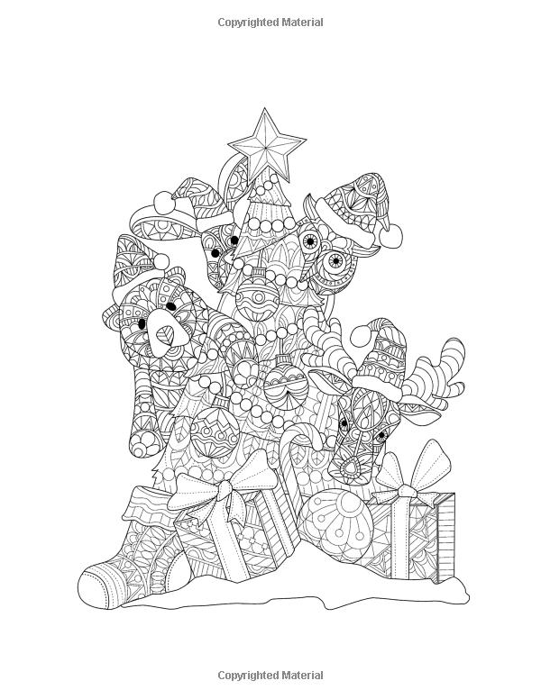 Tiempo de Navidad: Adulto Coloring Book (libros para colorear de ...