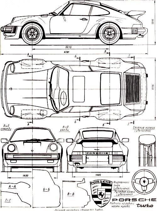 Orthographic drawing of sport car . Muhammad attariq zamel