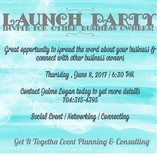 Contact @luvsgift for more information!!! #NC #EventPlanner #LaunchParty #Network #BringYourBusinessCards #support #evedeso #eventdesignsource - posted by Takarra https://www.instagram.com/reflectionsofme_. See more Event Planners at http://Evedeso.com
