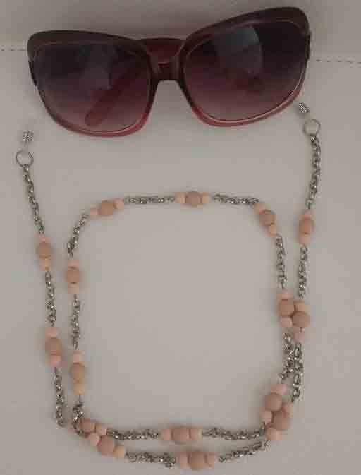 Corrente – Cordinha óculos – As Marias Biju   Biju   Pinterest ... 3c8f7d4247