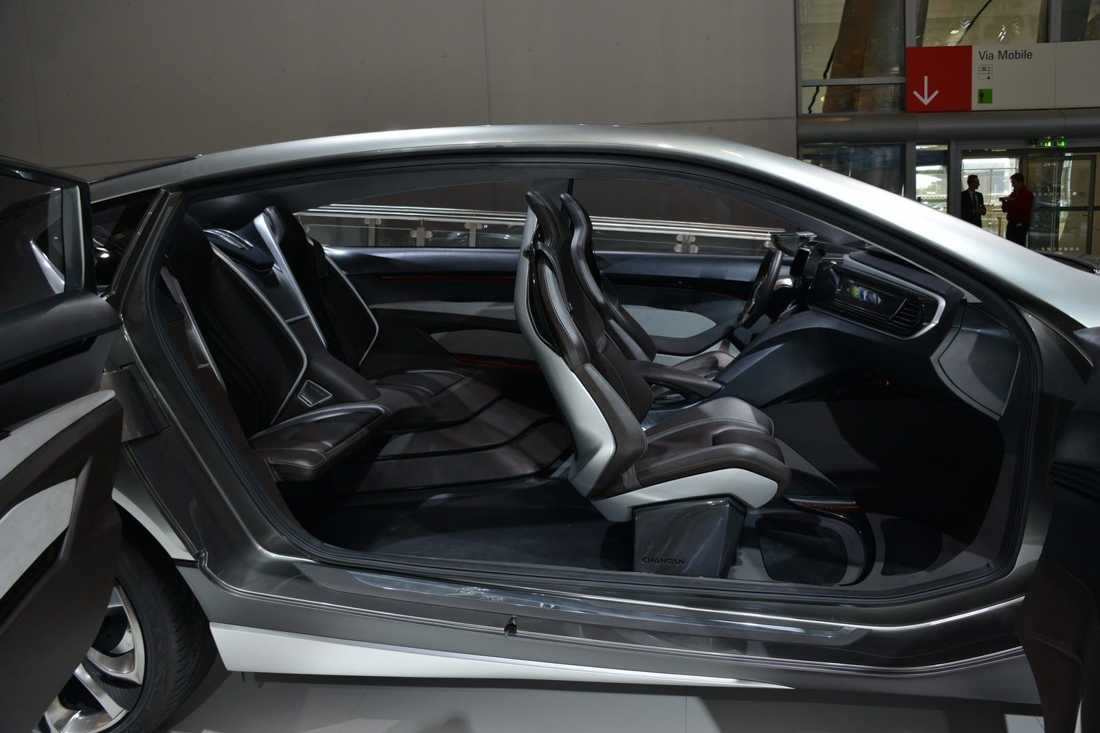 Changan Cs95 Inside With Images Chang An Car Interior Sports Car