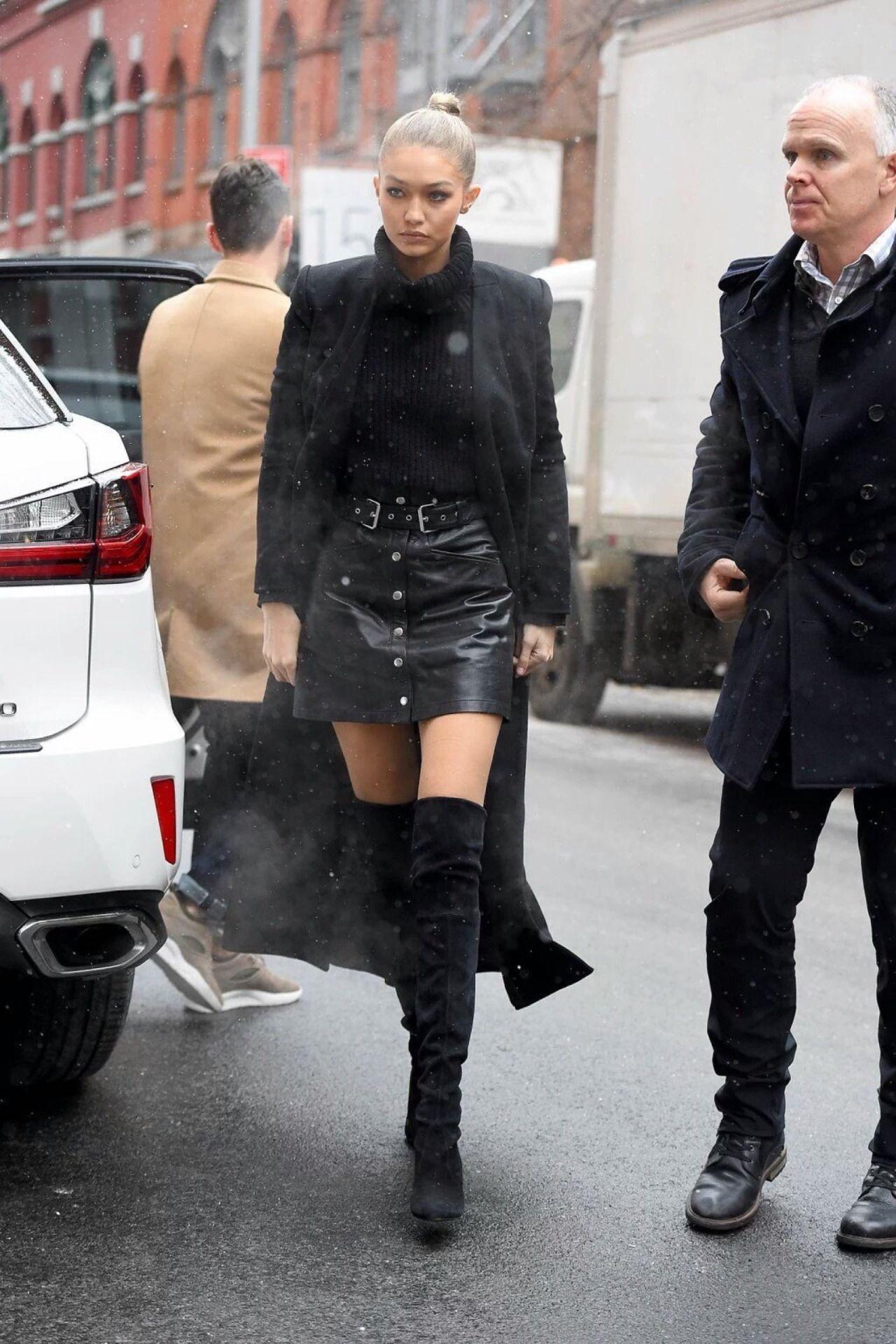 Gigi Hadid: New York street style