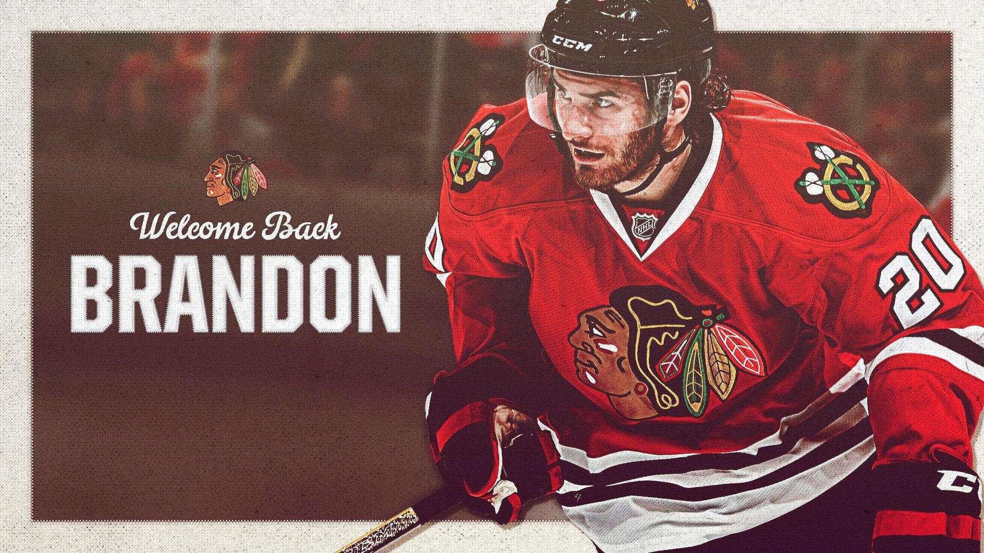 edbc9f4d3bb ... Two-time Stanley Cup winner Brandon Saad is a Blackhawk again. Reebok  Mens Chicago Blackhawks Premier Jersey ...