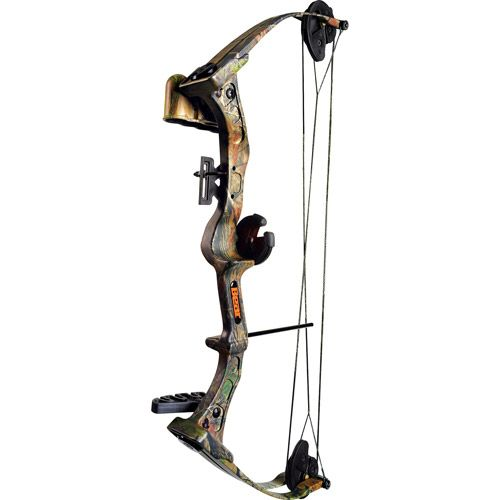 Bear Archery Warrier III Bow Set with Biscuit