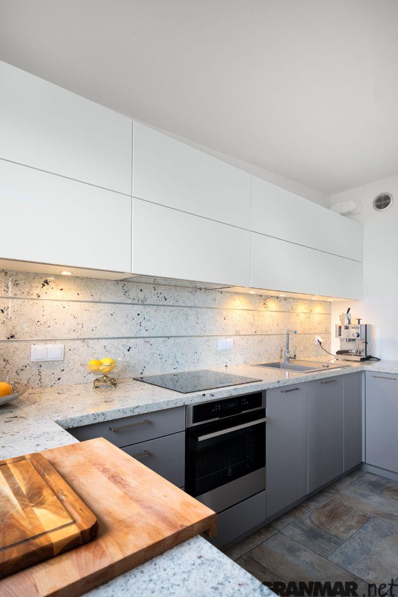 Na Zdjeciach Blat Kuchenny Z Granitu Colonial White Wykonany Przez Nas Granmar Net Kitchen Home Decor Decor