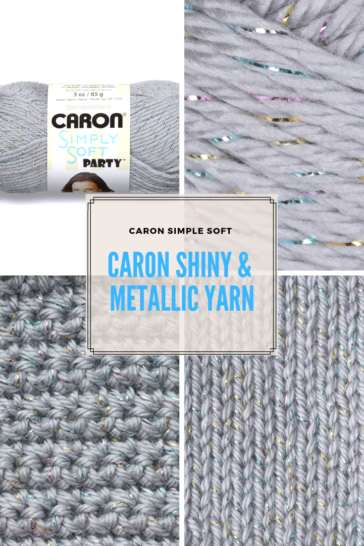 Caron Simply Soft Party Yarn Is Shiny And Still Supremely Soft To