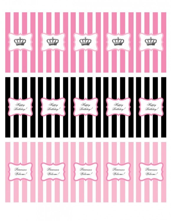Free Printable Mini Candy Bar Wrappers Princessparty