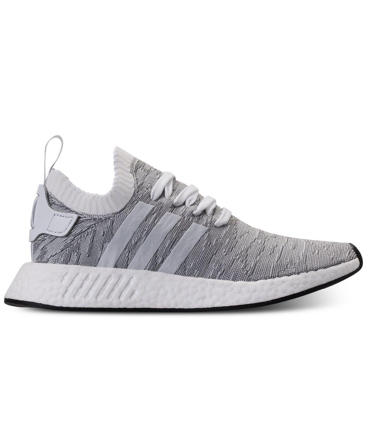 26b500ab9 adidas Men s NrMD R2 Primeknit Casual Sneakes Adidas Nmd R2