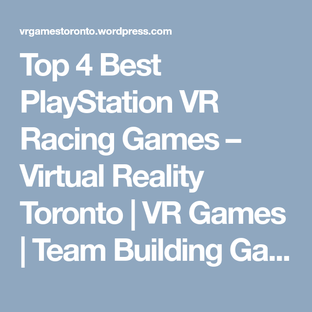 Pin On Vr Games