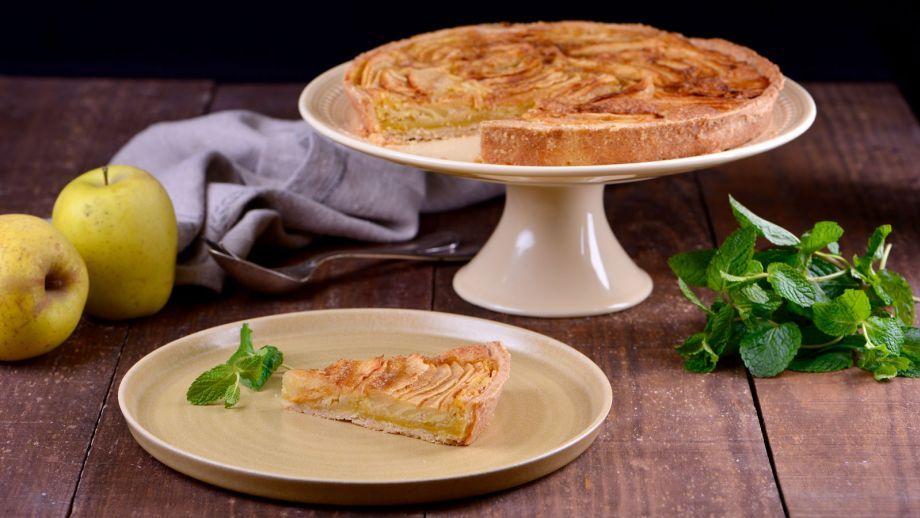 Tarta De Manzana Francesa Amanda Laporte Receta Canal Cocina Tarta De Manzana Tartas Receta De Postres Caseros