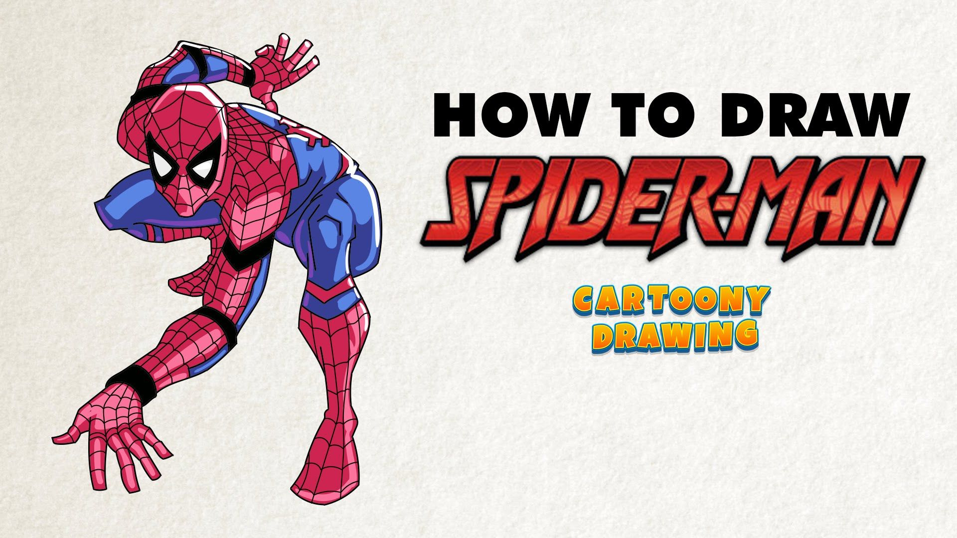 how to draw spider man civil war