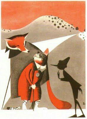 Il gatto e la volpe- Leonardo Mattioli