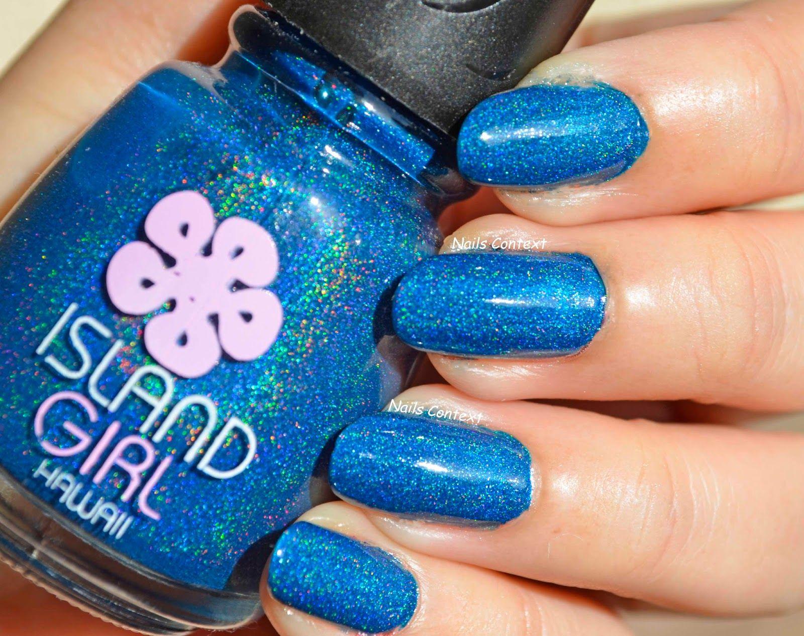 Nails Context: Island Girl Polishes #holo #holographic #nailpolish ...