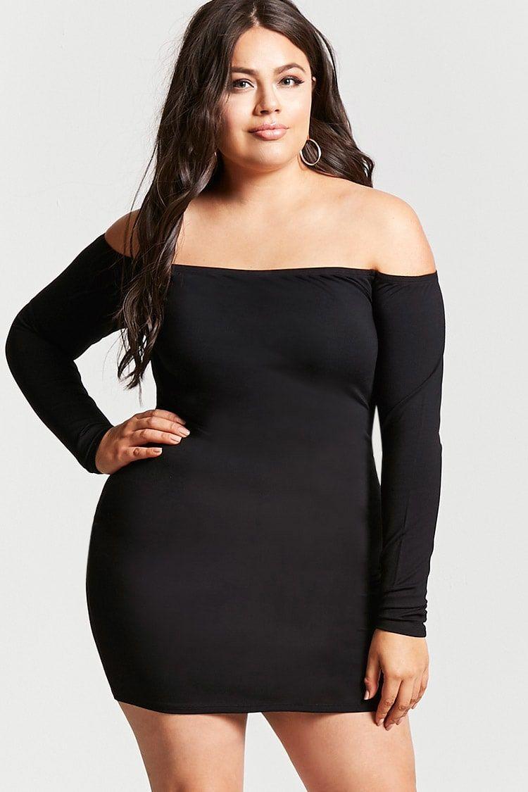 b0c129b60d1 Plus Size Bodycon Dress