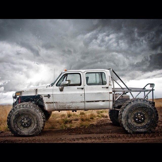 Badass Chevy Crawler