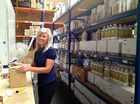 The lovely Charmaine, our Warehouse Manager www.ntphealthproducts.com