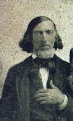 Frederick Marshall Holbrook, step-father of Caroline Quiner Ingalls. Born Dec. 11, 1819, Connecticut; died February 11, 1874, Sullivan, Wisconsin.