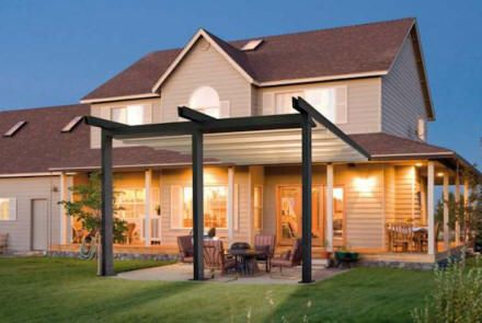 Waterproof Retractable Patio Cover Long Island M M Awning And Sign Patio Backyard Pergola Deck With Pergola