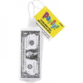These money pads make great party bag fillers.