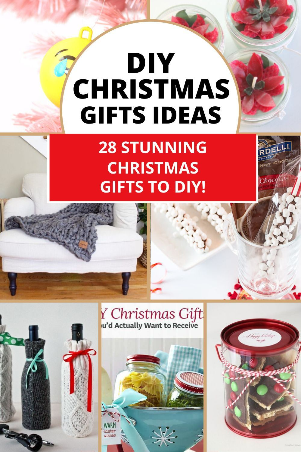 Amazing DIY christmas gifts ideas for family, friends co-workers that looks expensive and beutiful but are cheap and easy to make. These list of christmas gift ideas on budget has gifts for everyone you need to give. #christmasgifts #christmasgiftideas #diygiftideas #offbeatbros #giftideas #christmascrafts