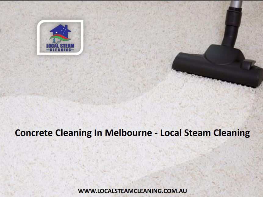 With Local Steam Cleaning, we will help you cleanup