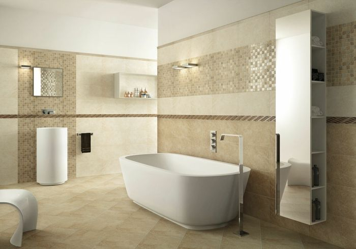 Awesome Ceramic Bathroom Tile Ideas