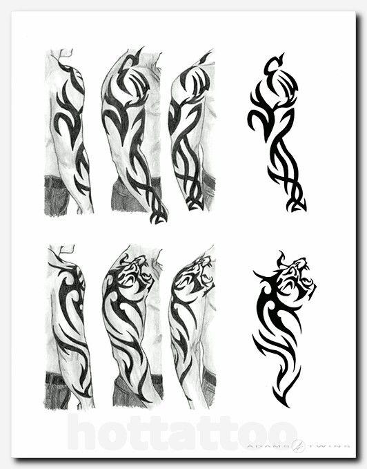 A Tribal Tiger Tattoo A Friend Wanted But Didn T Know What Kind Hot Tattoo Tribal Tiger Tattoo Tribal Tattoos Tribal Arm Tattoos