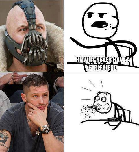 Pin by Jovana Milenov on Humor (With images) Tom hardy