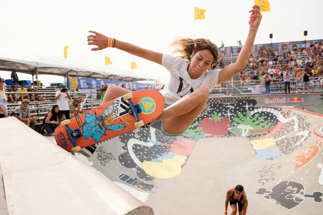 Pin on Women Skateboarding