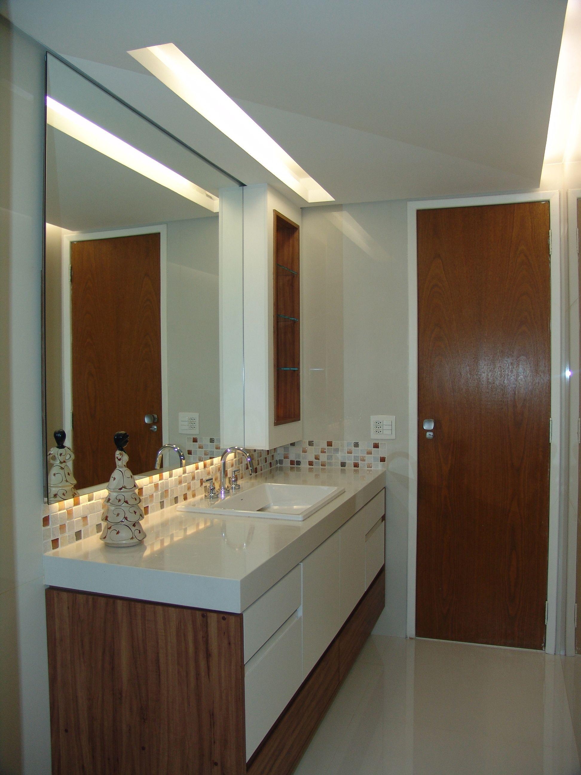 luminaria no espelho do banheiro Pesquisa Google bathroom Luminaria banheiro, Decoraç u00e3o