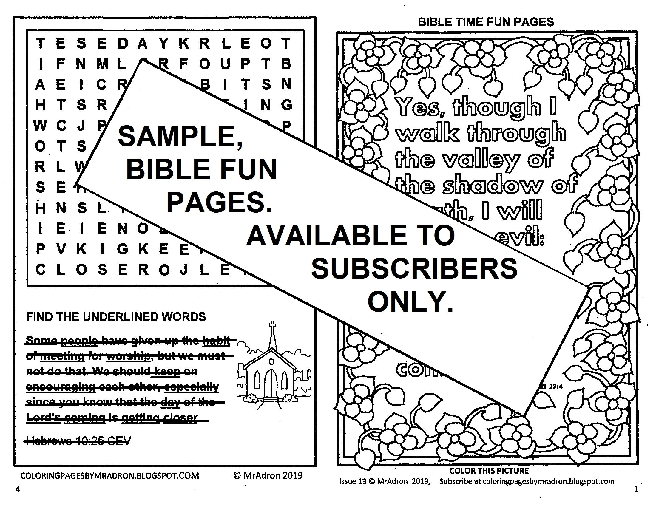 Pin By Adron Dozat On Bible Fun Activity Printables For