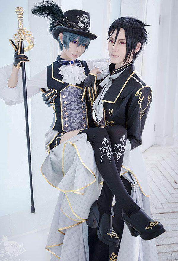 Photo of 100 Sleeping Princes & the Kingdom of Dreams Black Butler Ciel Phantomhive Cosplay Costume