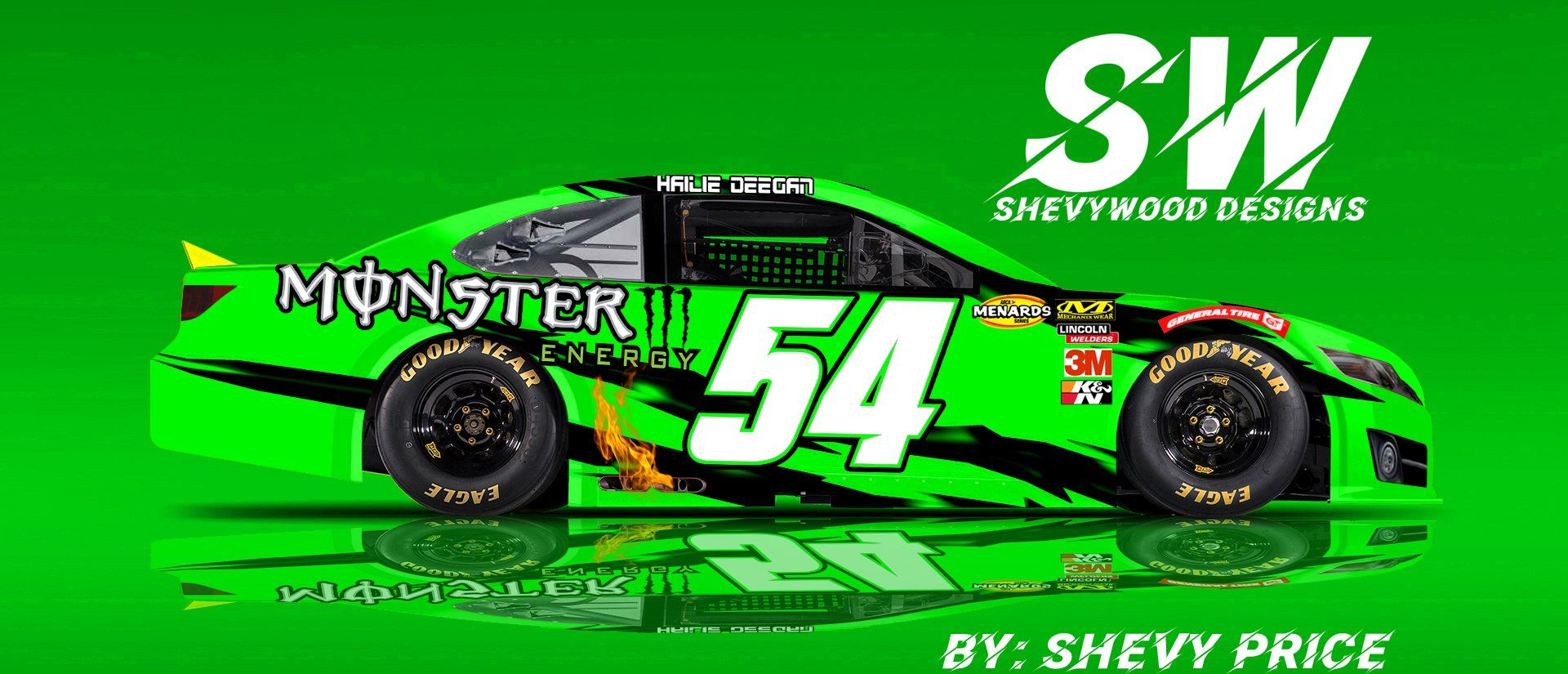 SHEVY PRICE DESIGNS on Twitter in 2020 Arca racing, Indy