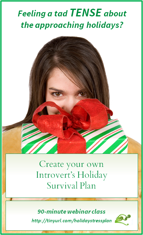 Holiday help introvert