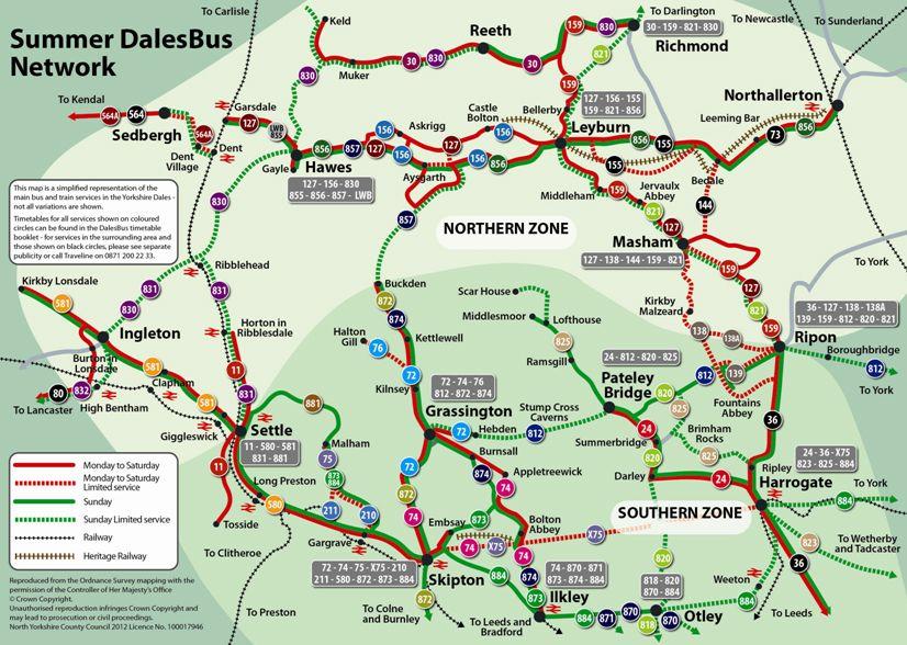 DalesBus  York  Yorkshire Dales  North York Moors  Pinterest