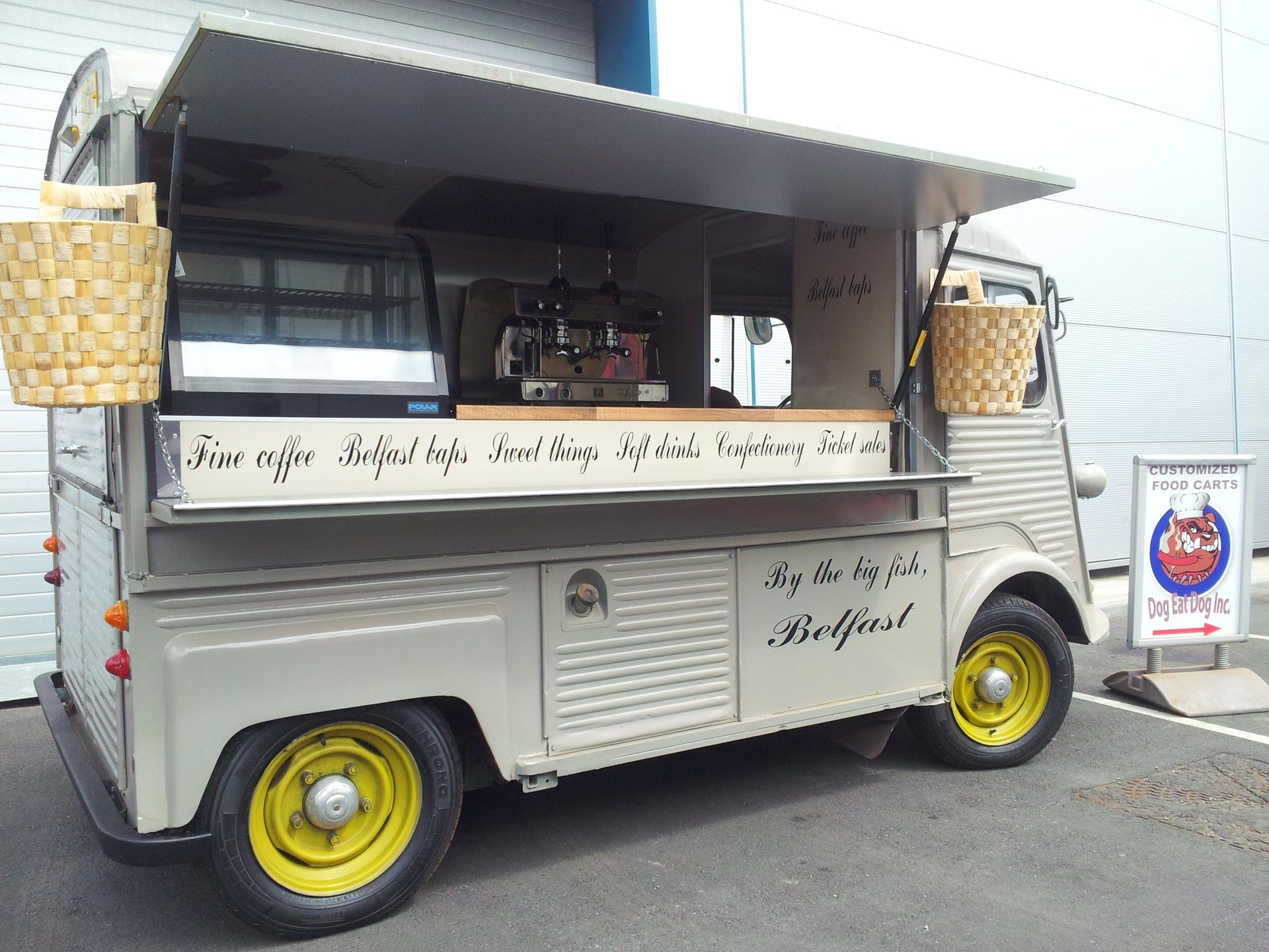 534f694666 Coffee van
