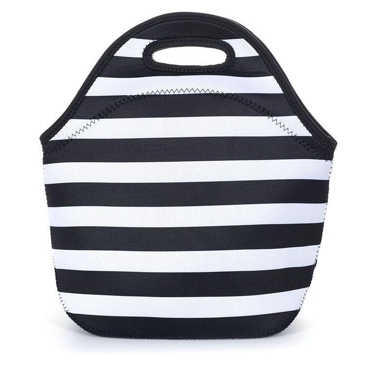 ad34e69a9b00 Potable Smart Neoprene Lunch Bag For Office School Picnic   Neoprene ...