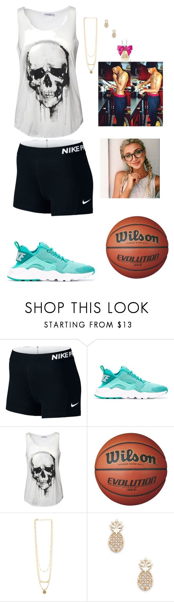 """""""With him ~ gabby"""" by country-and-gods-girl ❤ liked on Polyvore featuring NIKE, Sole Society and Juicy Couture"""