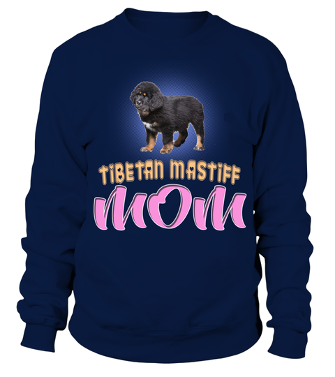 Little Security Guard Black Puppy Of Tibetan Mastiff Mom