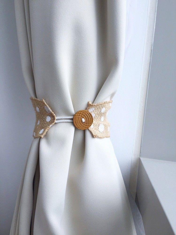 Raffhalter Selber Machen gardinen raffhalter aus juteband selber machen diy accessoires