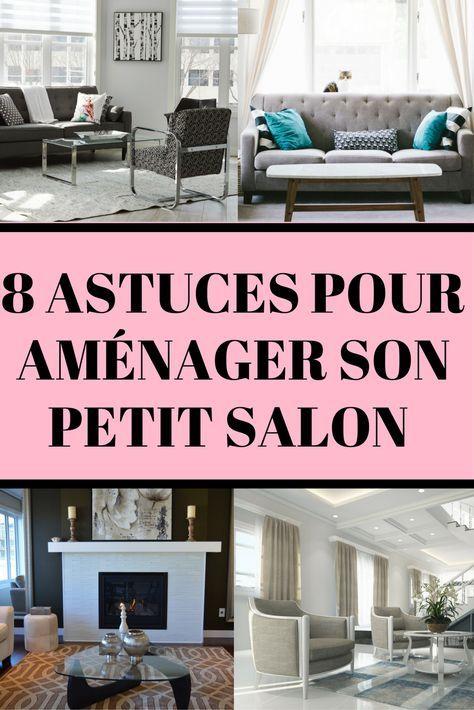 8 Idees Pour Amenager Parfaitement Un Petit Salon Petit Salon