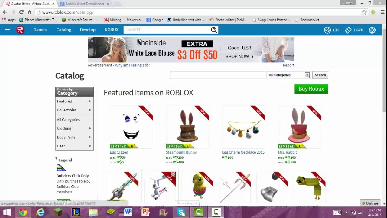 How To Get Free Stuff Without Robux Or Catalog Roblox