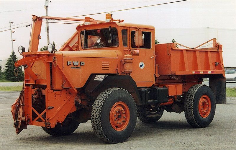 Usa Snowplow With Images Dump Trucks Fwd Plow Truck
