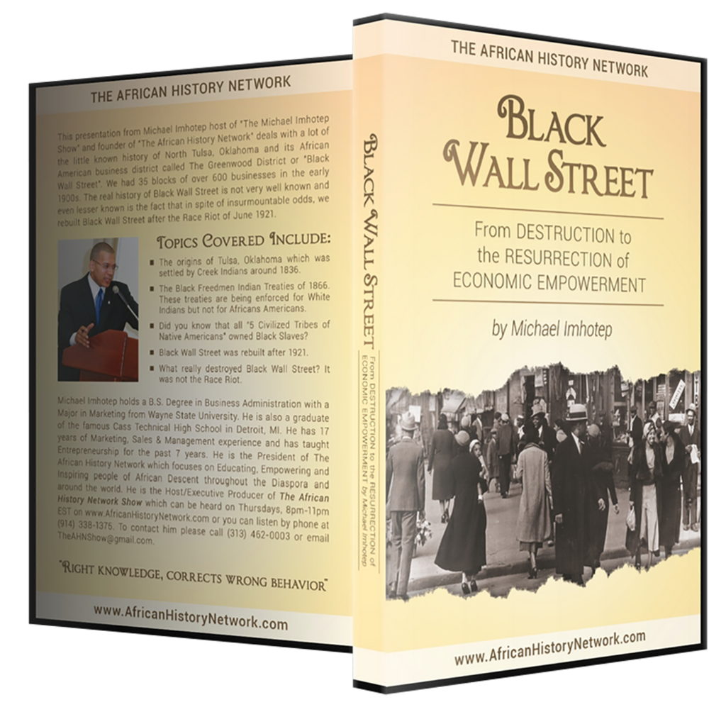Black wall street from destruction to the resurrection of economic