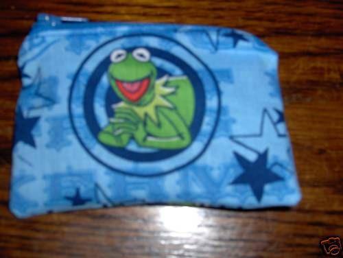 Muppets Animal handmade zipper fabric coin change purse card holder