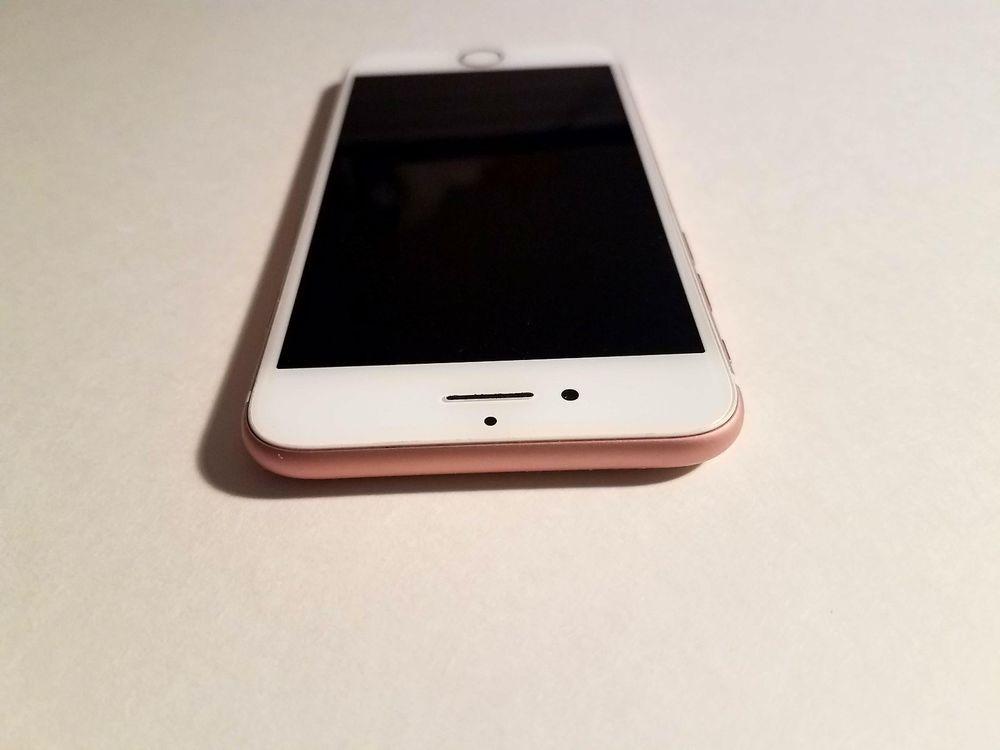 Apple Iphone 7 32gb Rose Gold Sprint A1660 Cdma Gsm Financed Read Apple With Images Apple Iphone Iphone Apple Phone