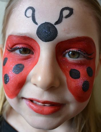 maquillage enfant coccinelle face painting pinterest kids makeup makeup and halloween makeup. Black Bedroom Furniture Sets. Home Design Ideas